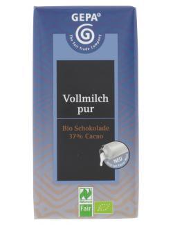 Gepa Bio Vollmilch pur (100 g) - 4013320185605