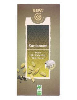 Gepa Kardamom Schokolade (100 g) - 4013320185766