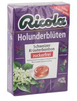 Ricola Holunderblüten zuckerfrei (50 g) - 7610700614679