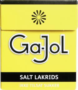 Ga-Jol zuckerfreies Salzlakritz