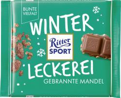 Ritter Sport Winterkreation Gebrannte Mandel