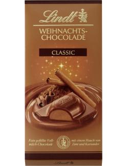 Lindt Weihnachts-Chocolade classic