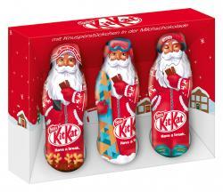 Kitkat Crisp Mini Weihnachtsmänner