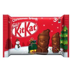Kitkat Mini-Weihnachtsmänner