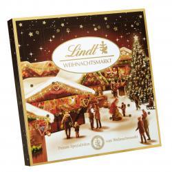 Lindt Weihnachtsmarkt Tisch-Adventskalender