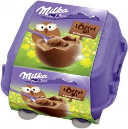 Milka Löffel Ei Kakaocrème (136 g) - 7622300470029