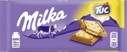 Milka Tafel Alpenmilch & Tuc Cracker