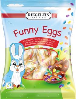 Riegelein Funny Eggs Schokolinsen-Eier