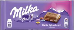 Milka Tafel Bunte Kakaolinsen