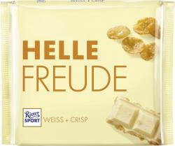 Ritter Sport Helle Freude Weiß + Crisp