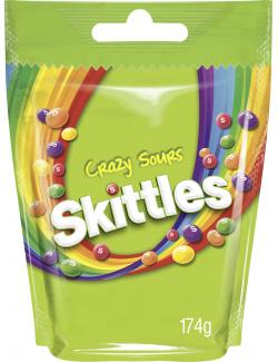 Skittles Crazy Sours (174 g) - 4009900465304