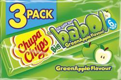 Chupa Chups Big babol Grüner Apfel (3 x 27 g) - 8410031954517