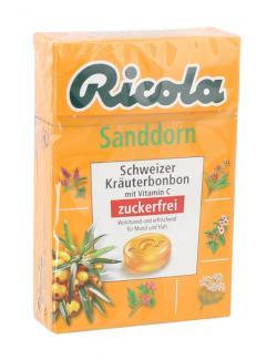 Ricola Sanddorn zuckerfrei (50 g) - 7610700624234