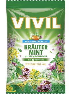 Vivil Husten Bonbons Kräuter-Mint (80 g) - 4020400891035