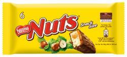 Nestlé Nuts Schokoriegel mit Nuss und Karamell (6 x 30 g) - 8593893744486