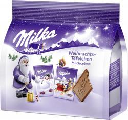 Milka Weihnachts-Täfelchen Milchcreme