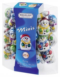 Riegelein Mini Schokoladen-Schneemännchen