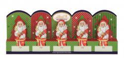 Lindt Mini-Weihnachtsmänner Vollmilch perforiert