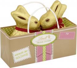 Lindt Frohe Ostern wünscht der Goldhase