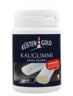 Küstengold Kaugummi Lakritz strong (67 g) - 4250426213294
