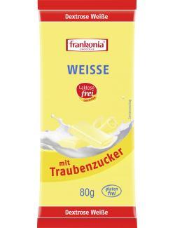 Frankonia Weiße Schokolade laktosefrei