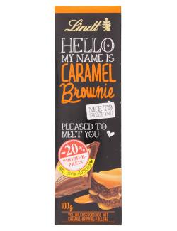 Lindt Hello Caramel Brownie Tafel Probierpreis