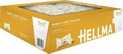 Hellma Mandel in weißer Schokolade (360 St.) - 4003148711865