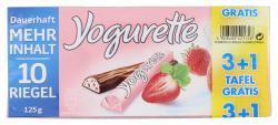 Yogurette Erdbeere 3+1 gratis Tafel