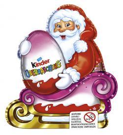 Kinder Überraschung Weihnachtsmann für Mädchen