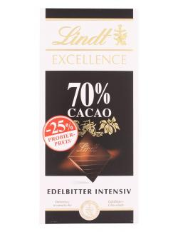 Lindt Excellence Edelbitter intensiv 70%
