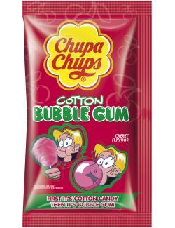 Chupa Chups Cotton Bubble Gum Kirschgeschmack (11 g) - 4602606010719