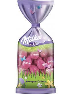 Milka Oster-Eier Knusper-Crème
