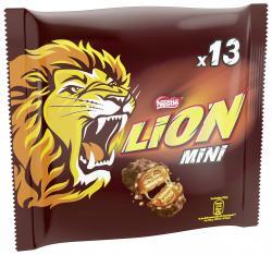 Nestlé Lion Mini Schokoriegel mit Karamell (234 g) - 7613035502079