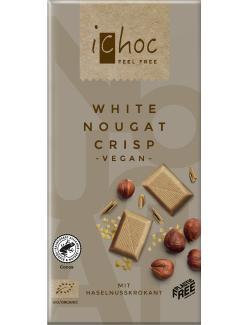 iChoc White Nougat Crisp (80 g) - 4044889002751