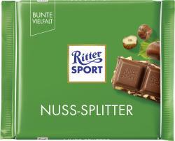 Ritter Sport Bunte Vielfalt Nuss-Splitter (100 g) - 4000417222008