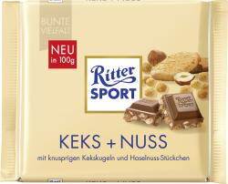 Ritter Sport Bunte Vielfalt Keks + Nuss