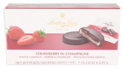 Anthon Berg Strawberry in Champagne (220 g) - 5774540984056