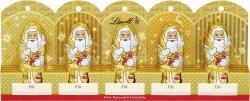 Lindt Mini Weihnachtsmänner Gold