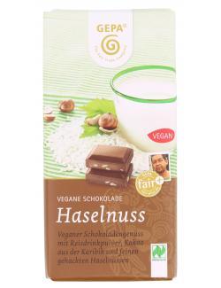Gepa Bio Vegane Schokolade Haselnuss (100 g) - 4013320296660