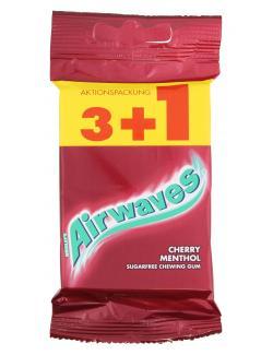 Airwaves Cherry Menthol 3+1 Aktionspack (4 St.) - 4009900397988