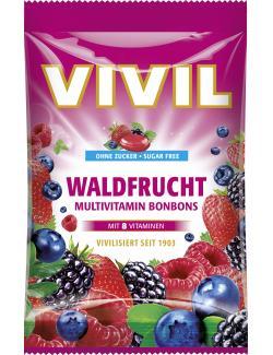 Vivil Waldfrucht Multivitamin Bonbons ohne Zucker