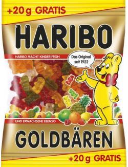 Haribo Goldbären +10% mehr Inhalt