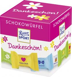 Ritter Sport Schokowürfel Dankeschön (176 g) - 4000417651105