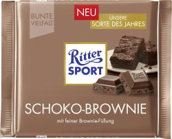 Ritter Sport Bunte Vielfalt Schoko-Brownie (100 g) - 4000417231000