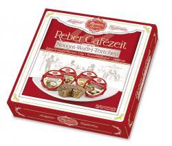 Reber Cafézeit Nougat-Waffel-Törtchen