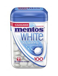 Mentos White Always Strahlendes Lächeln Peppermint