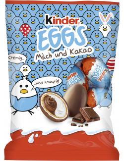 Kinder Eggs Milch und Kakao