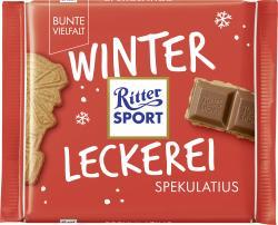 Ritter Sport Bunte Vielfalt Winter Kreation Spekulatius