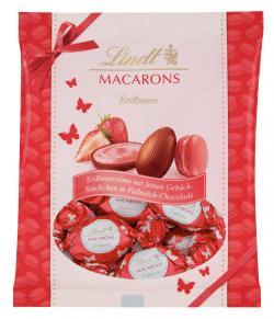 Lindt Macarons Eier Erdbeere