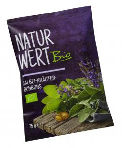 NaturWert Bio Salbei-Kräuter-Bonbons
